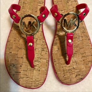 Pink Michael Kors sandals